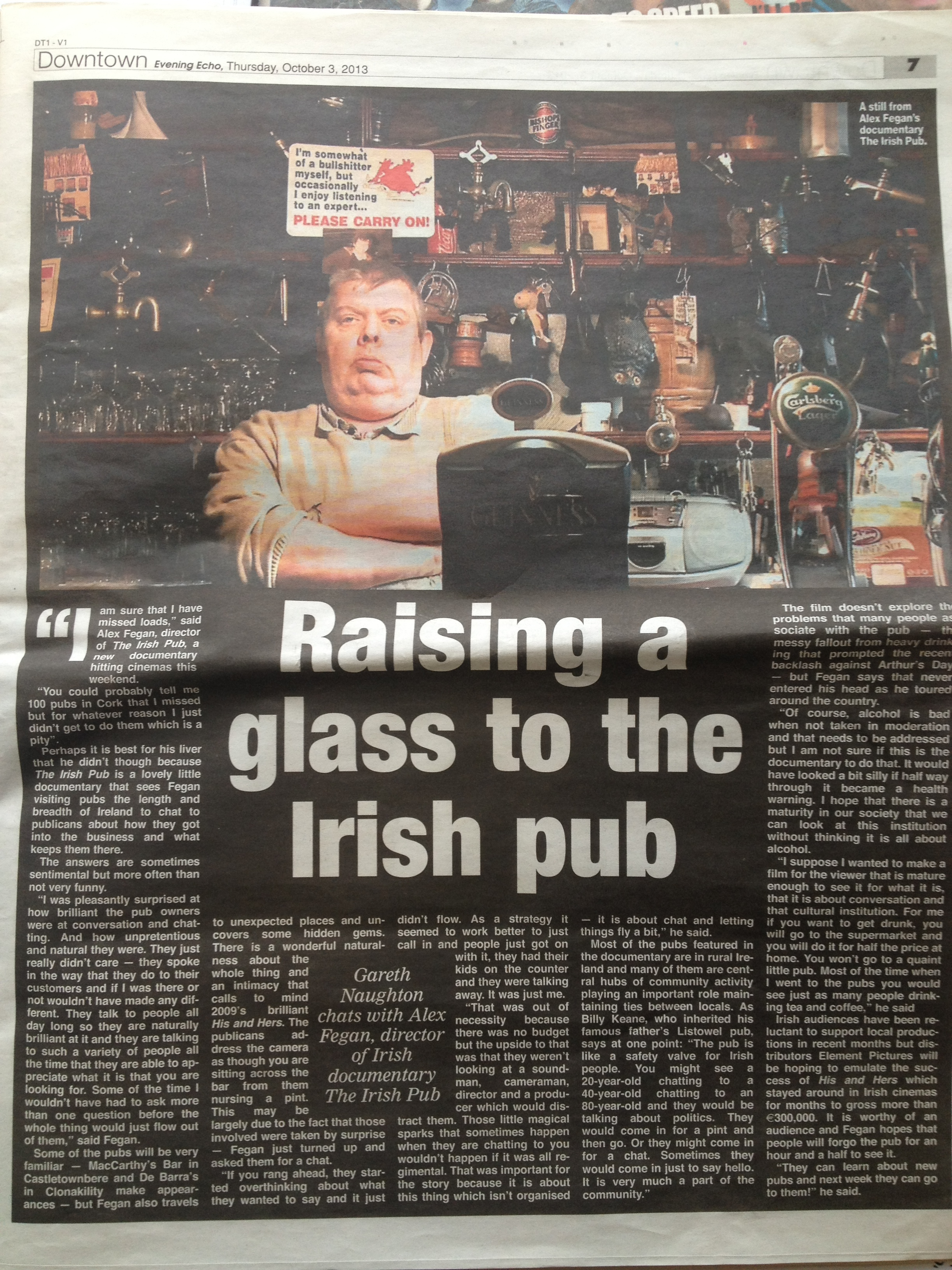 Evening-Echo-feature-on-The-Irish-Pub
